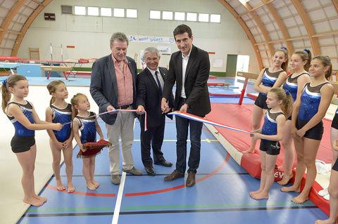 Inauguration de la Salle de gymnastique du Pontreau