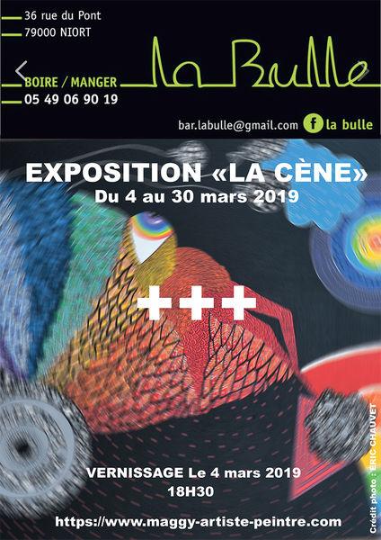 Exposition : Maggy Guichard à La Bulle