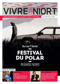couverture Magazine vivre à niort : Numéro de février 2016