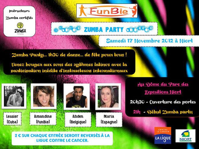 Zumba party niort mairie de niort for Parc des expositions niort