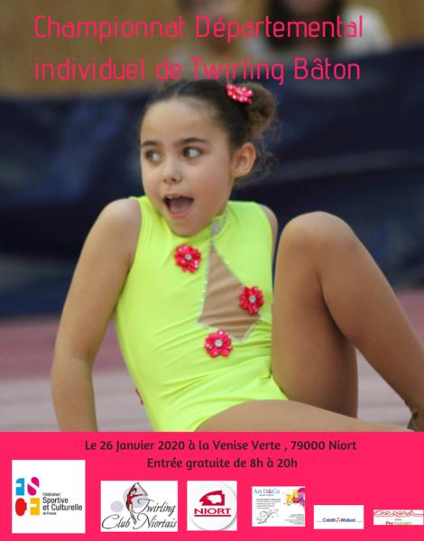 Championnat individuel départemental de Twirling Bâton