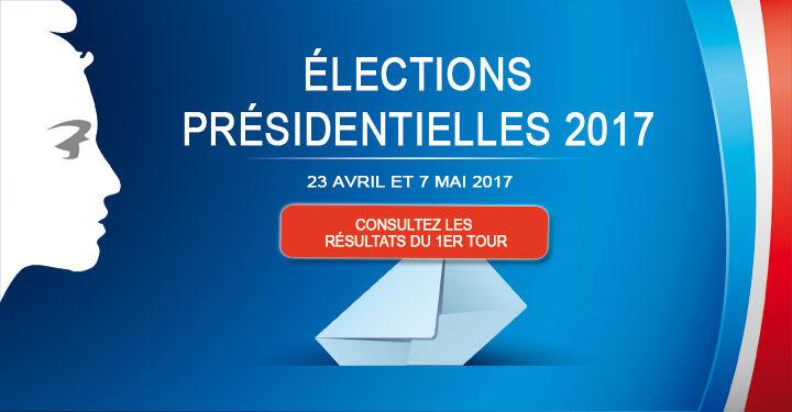 Résultat du 1er tour des élections présidentielles à Niort