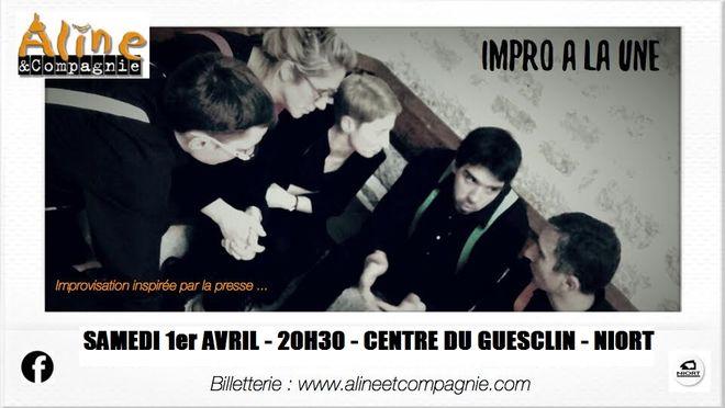 Théâtre d'impro - Cabaret amateur Aline et Cie