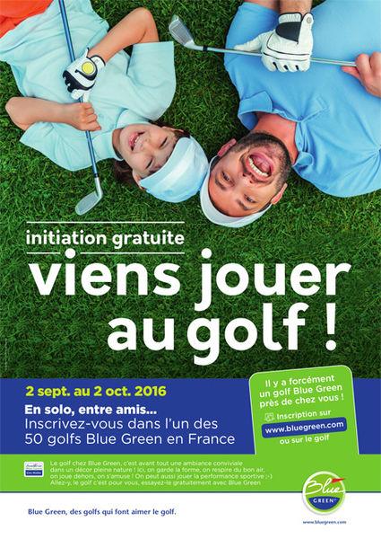 Viens jouer au golf !