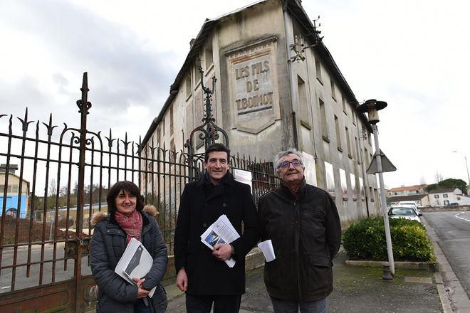Lancement appel à projets pour la Maison patronale et la Fabrique Boinot, janvier 2018 ©BDerbord