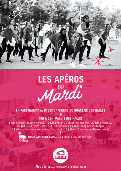Apéros du Mardi : soirée Tango avec Tang'Ochos & Le Parvis