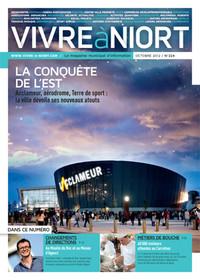couverture Magazine vivre à niort : Numéro d'octobre 2012