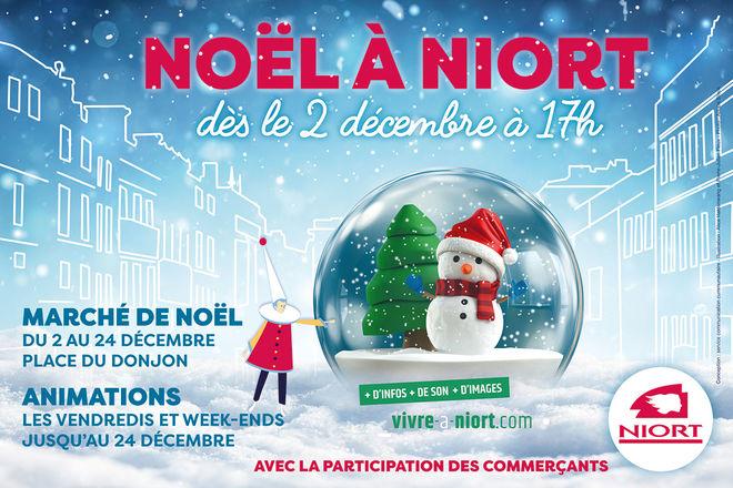 Lancement des festivités de Noël 2017