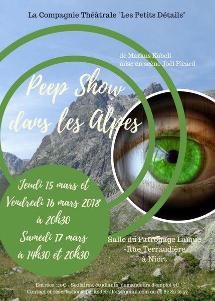 Théâtre : Peepshow dans les Alpes