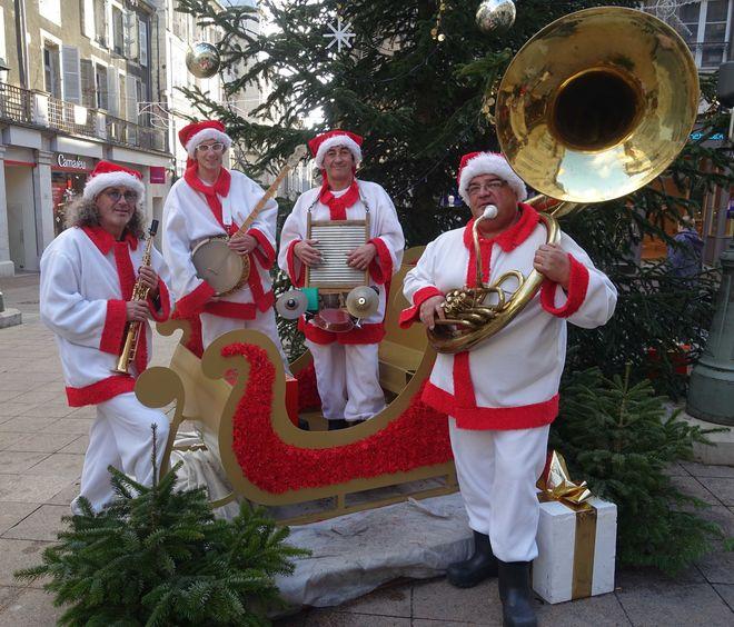 Déambulation de Noël : Christmas Jazz Band