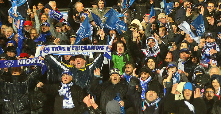Match Chamois Niortais/PSG ©O.Drihlon