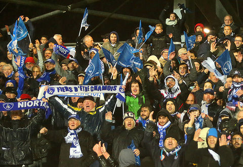 Match Chamois Niortais/PSG du 1er mars 2017 ©ODrihlon