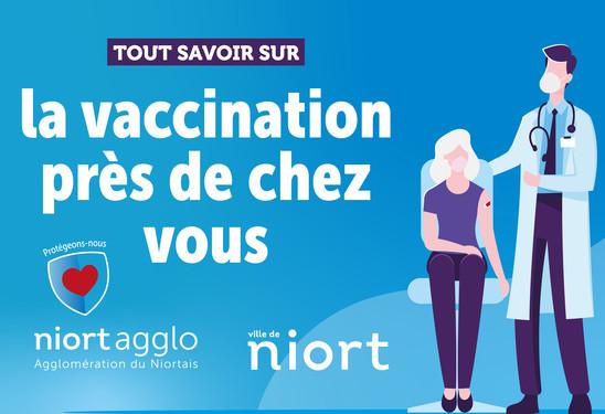 La vaccination près de chez vous