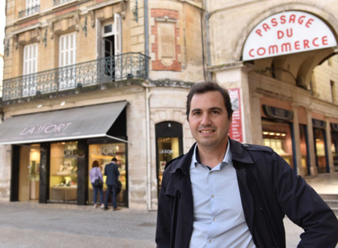 Manager de centre-ville, Guillaume Cassé ©BDerbord