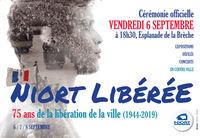 illustration de la manifestation Commémoration : 75e anniversaire de la Libération de Niort