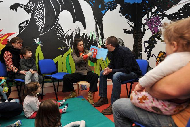 Animation : bébés-lecteurs à la médialudothèque