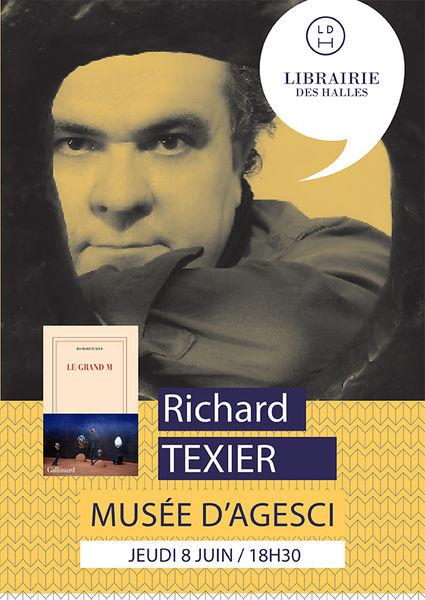 Rencontre littéraire : Richard Texier dédicace son premier roman