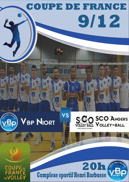 Sport : Coupe de France Masculine de Volley-Ball