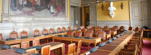 Salle du conseil municipal