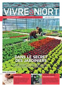 couverture Magazine vivre à niort : Numéro de juin 2016