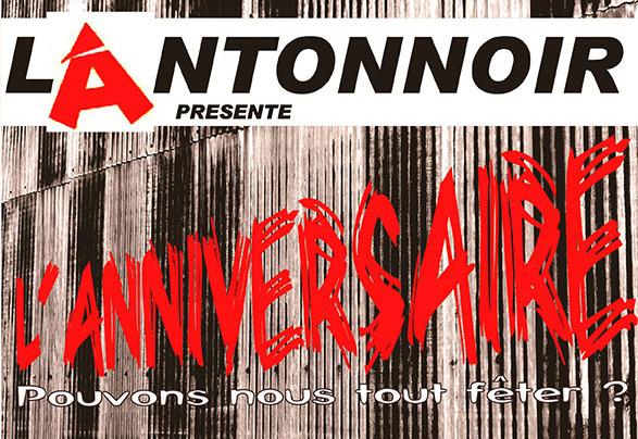 Théâtre : L'anniversaire, par l'Antonnoir