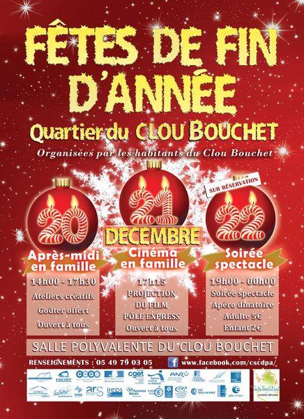 Fêtes de fin d'année au Clou-Bouchet