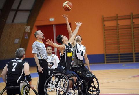 Match Handi-basket Niort-Poitiers