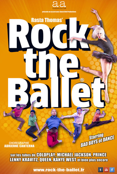 Spectacle annulé : Rock The Ballet