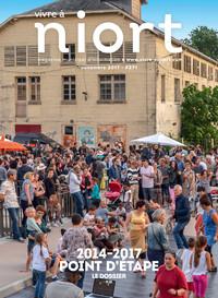 couverture Magazine vivre à niort : Numéro de novembre 2017