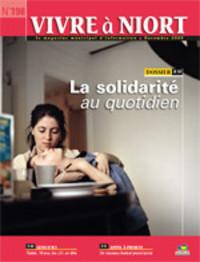 couverture Magazine vivre à niort : Numéro de novembre 2009