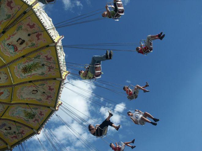 Noël à Niort : Carrousel des chaises volantes