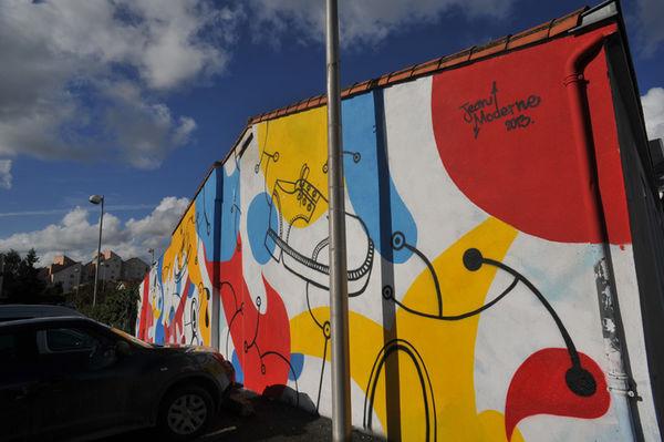 Oeuvre réalisée en octobre 2013 rue de Bessac - Crédit Bruno Derbord