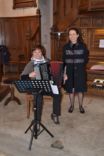 Concert orgue et accordéon