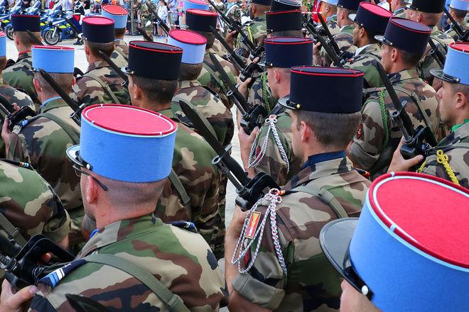 Fête nationale : Défilé militaire