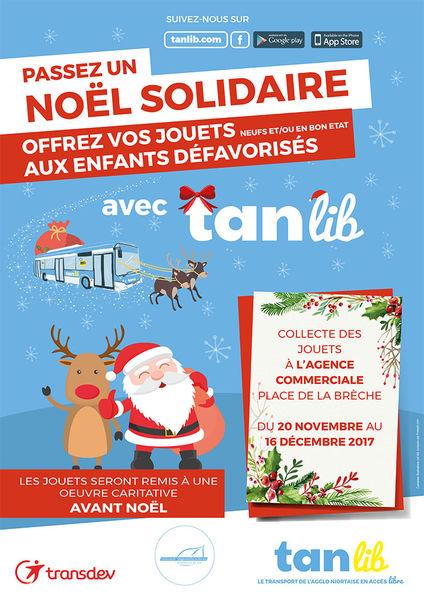 Noël solidaire avec tanlib