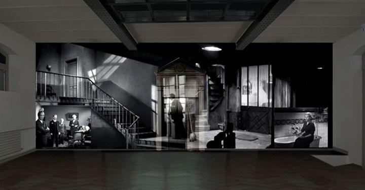 Installation vidéo, le Clouzoscope au pavillon Grappelli