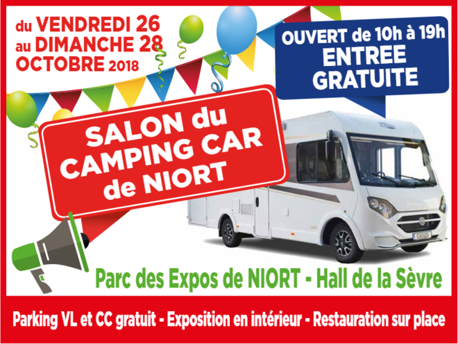 3e salon du camping car de Niort
