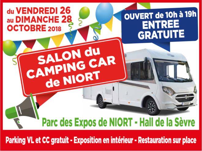 3e salon du camping car de Niort