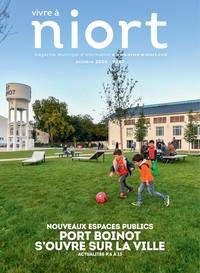 couverture Magazine vivre à niort : Numéro d'octobre 2020