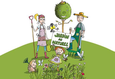 Illustration article : Au jardin, restez naturel !