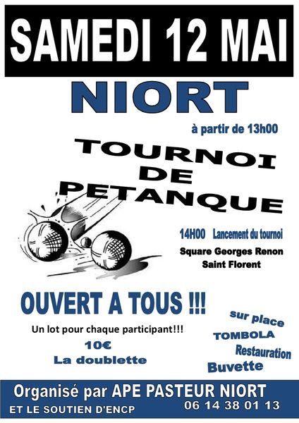 Sport : Tournoi de pétanque