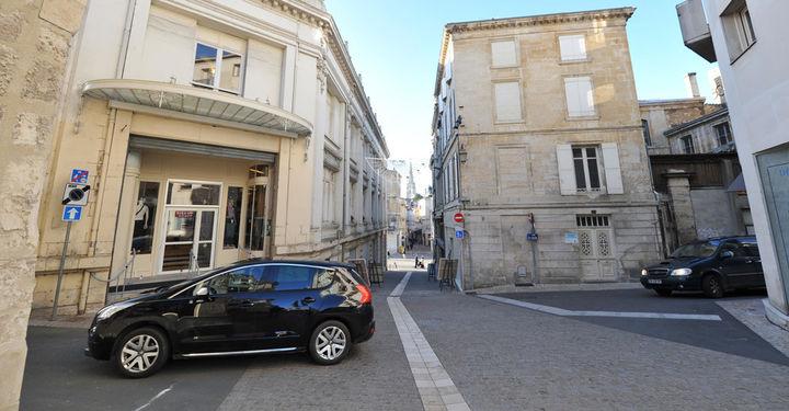 Nouveau sens de circulation Colline Saint-André © B.Derbord