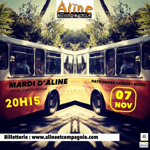 Mardi d'Aline & Cie - Spécial Tour du Monde