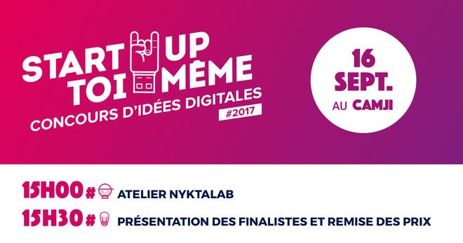 Remise des prix concours : Start-Up toi-même
