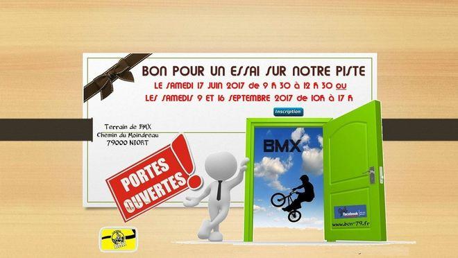 Portes ouvertes du BMX Club Niortais