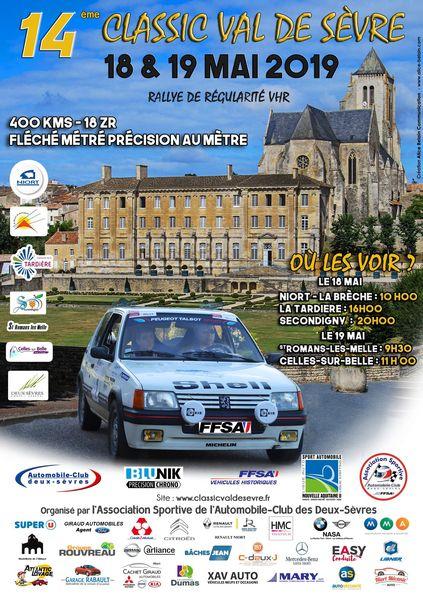 14e Rallye Classic Val de Sèvre