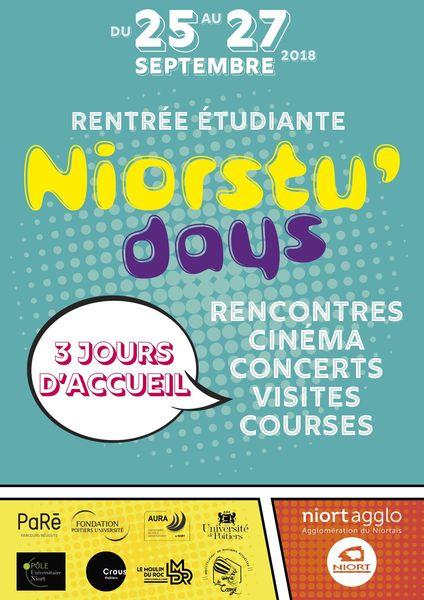 Accueil des étudiants - Niorstu'days