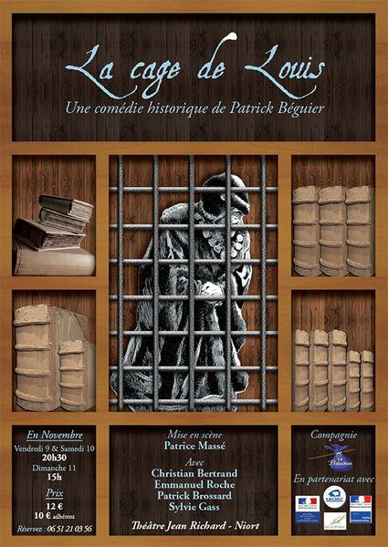 Théâtre : La Cage de Louis