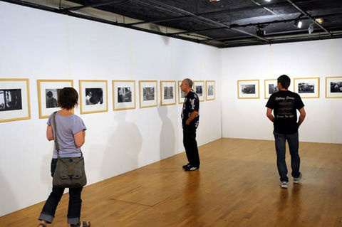 Selvaprakash L. - Exposition au Moulin du Roc / © Bruno Derbord