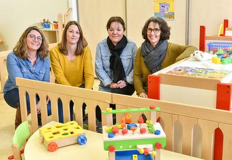 Illustration article : Un nouveau lieu d'accueil enfants/parents